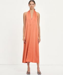 Samsoe & Samsoe Cille Dress Apricot Brandy