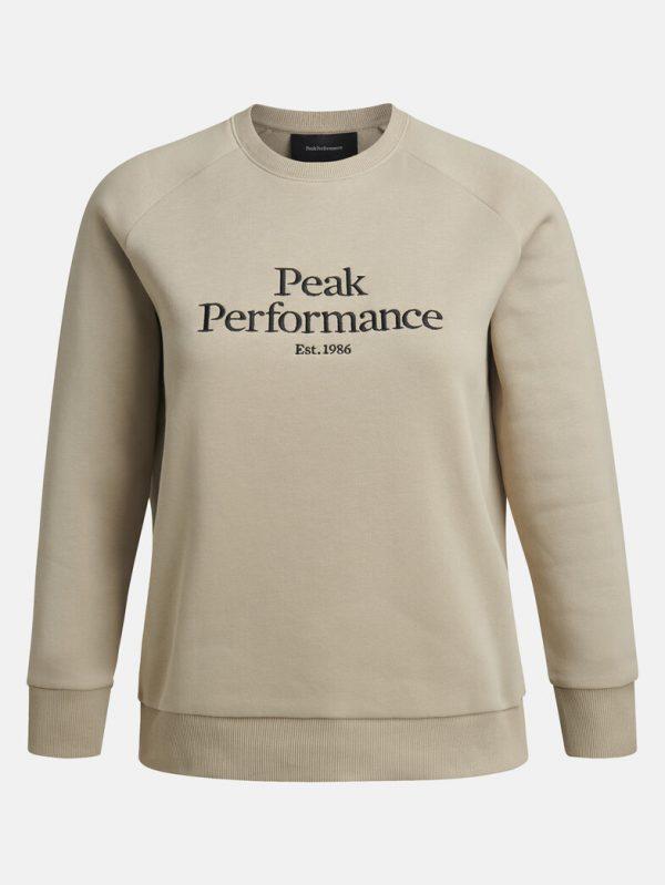 Peak Performace Original Crew Women Celsian Beige