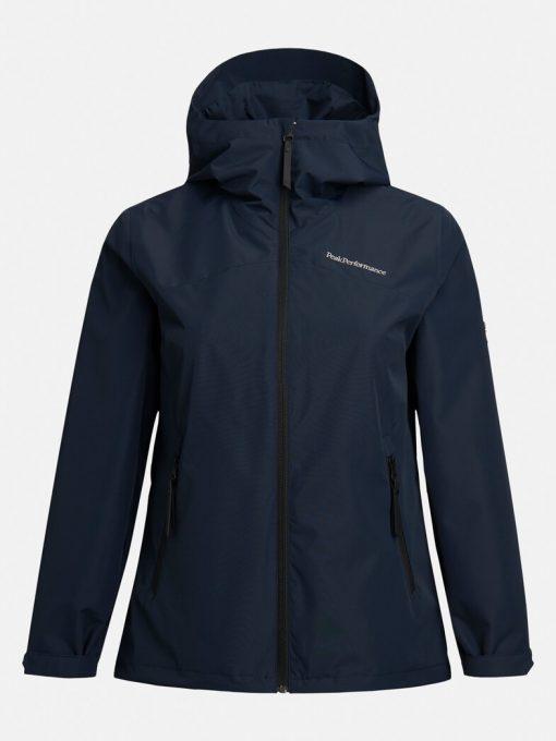 Peak Performance Coastal Jacket Woman Blue Shadow