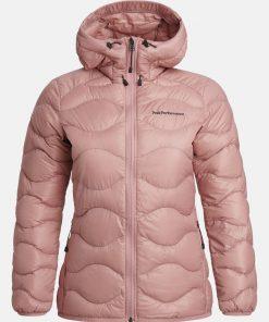 Peak Performance Helium Hood Jacket Women Warm Blush
