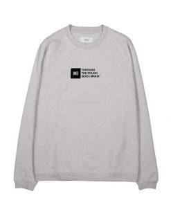 Makia Flint Light Sweatshirt Light Grey